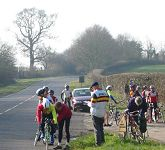 Start of the East Dorset CA Hilly 24